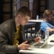 People Work on Laptops at Coworking - VideoHive Item for Sale