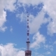 High TV Tower on Sky Background - VideoHive Item for Sale