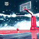 Basketball Flyer - Game 7 Hoops Tournament 8.5x14 Design Template - GraphicRiver Item for Sale