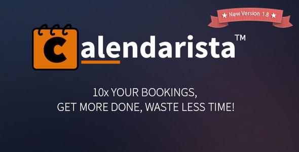 Calendarista - CodeCanyon Item for Sale