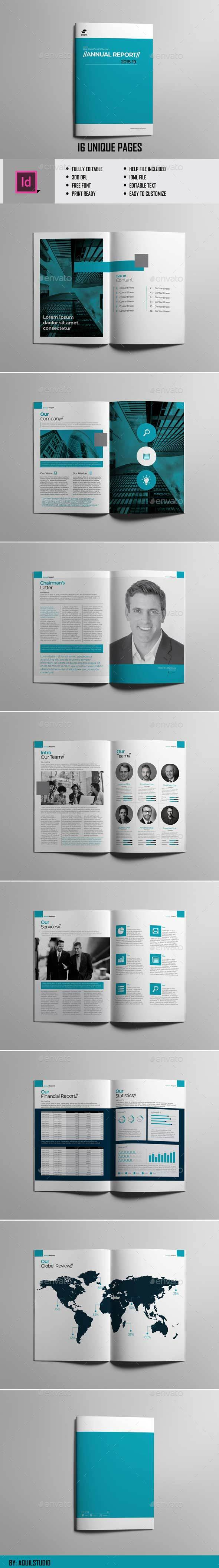 Annual Report Vol.2 - Brochures Print Templates