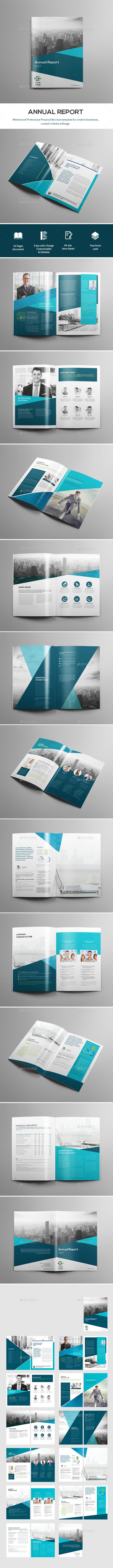 Creative Brochure Template - Corporate Brochures
