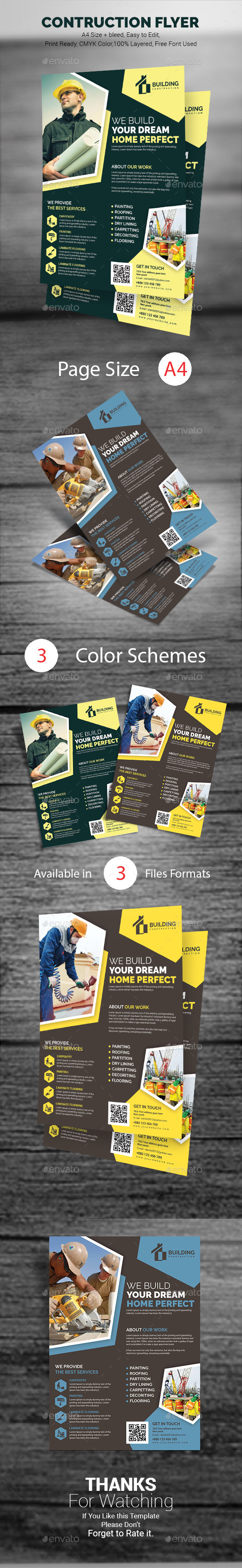 Construction Flyer - Corporate Flyers
