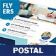 Postal Service Flyers – 4 Options - GraphicRiver Item for Sale
