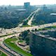 Over the Leninsky Avenue in Moscow - VideoHive Item for Sale