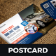 Postcard Design Template v4 - GraphicRiver Item for Sale
