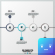 Circle Infographic Timelines (4 Items) - GraphicRiver Item for Sale