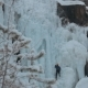 Competition Climbers on the Frozen Waterfall. - VideoHive Item for Sale