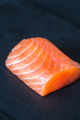 Salmon on the black stone board - PhotoDune Item for Sale