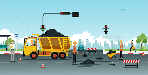 Road Surface Repair - Services Commercial / Shopping