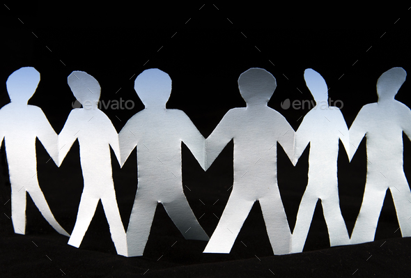 paper people - Stock Photo - Images