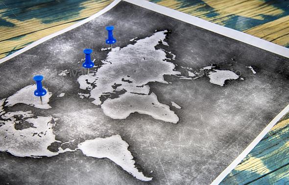 world map - Stock Photo - Images