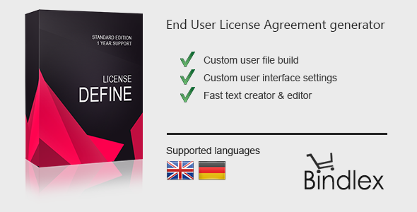License Define - CodeCanyon Item for Sale