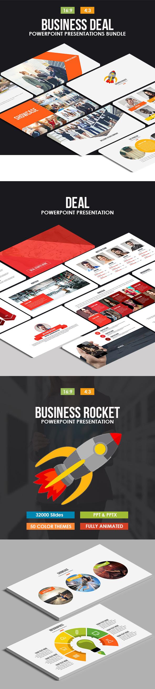 Business Deal Powerpoint Bundle - Business PowerPoint Templates