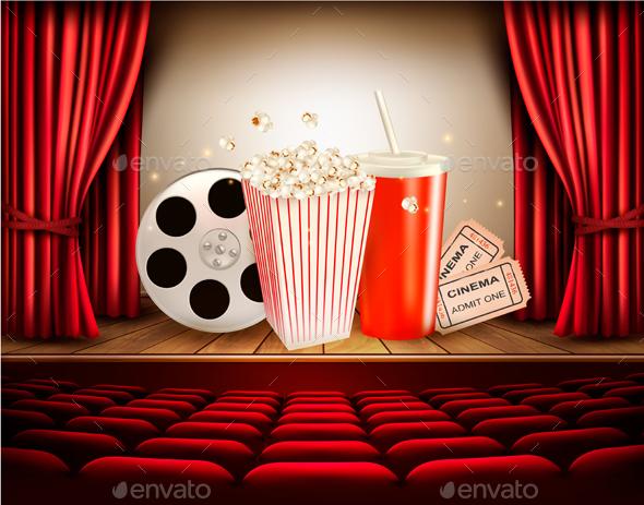 Cinema Background - Miscellaneous Vectors