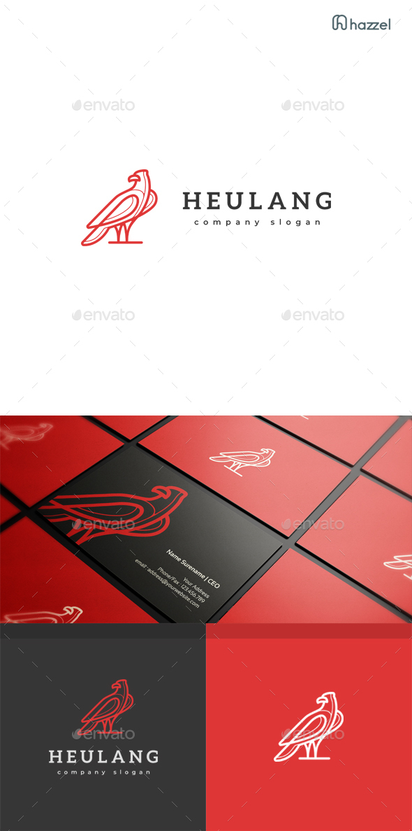 Heulang Logo Templates - Animals Logo Templates