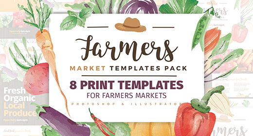 Farmers Market Templates Bundle