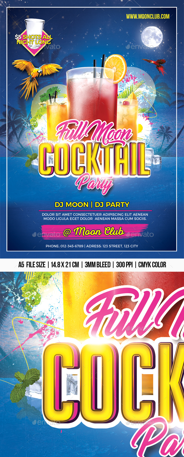 Full Moon Cocktail Party - Clubs & Parties Events