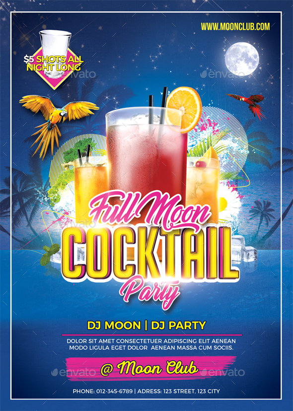 Full Moon Cocktail Party