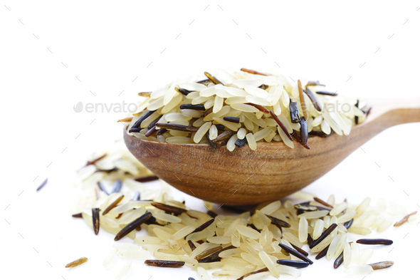 Mix of Rice - Stock Photo - Images