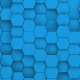 Blue Hexagons Loop - VideoHive Item for Sale