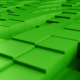 3D Green Cubes Seamless Background - VideoHive Item for Sale