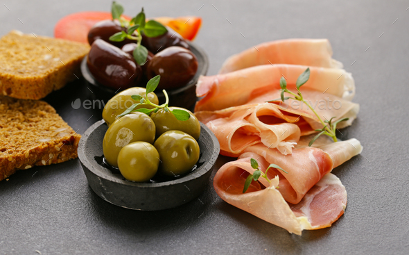 Italian Food  - Stock Photo - Images
