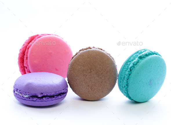 French Macaroons - Stock Photo - Images