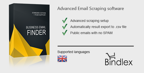 Business Email Finder - CodeCanyon Item for Sale