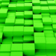 Green Cubes Background Loopable - VideoHive Item for Sale