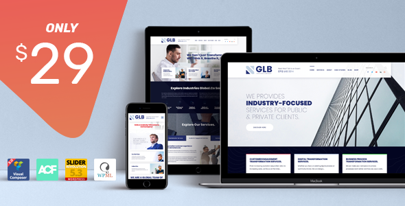 Glb - Responsive Multi-purpose WordPress Theme