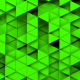 Green Triangles Background Random Loop - VideoHive Item for Sale