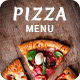 Minimalist Pizza Menu - GraphicRiver Item for Sale