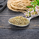 Thyme dry in spoon with scissors on board - PhotoDune Item for Sale