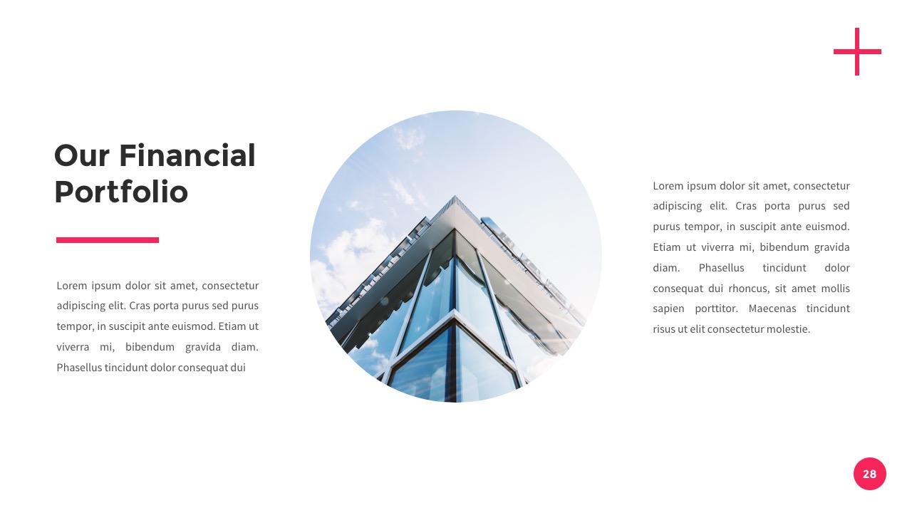 Financial - Finance Google Slides Template