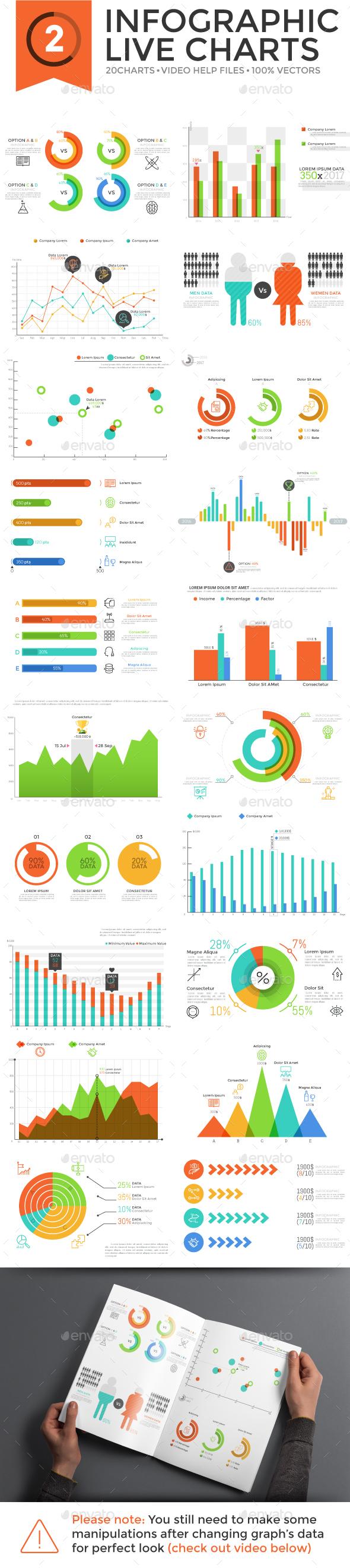 Edit Infographic Live Charts v.2 - Infographics