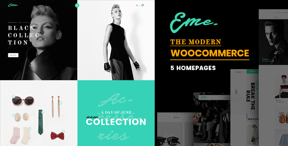 Eme - WooCommerce WordPress Theme