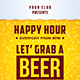Happy Hour Flyer - GraphicRiver Item for Sale
