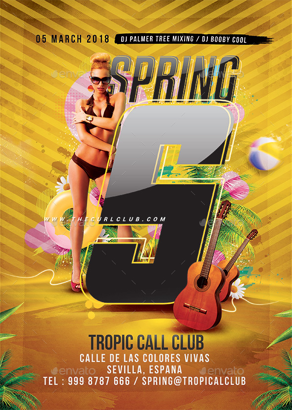 Spring Break Party - Clubs & Parties Events