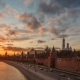 Moscow Kremlin Sunset View From Moscow River - VideoHive Item for Sale