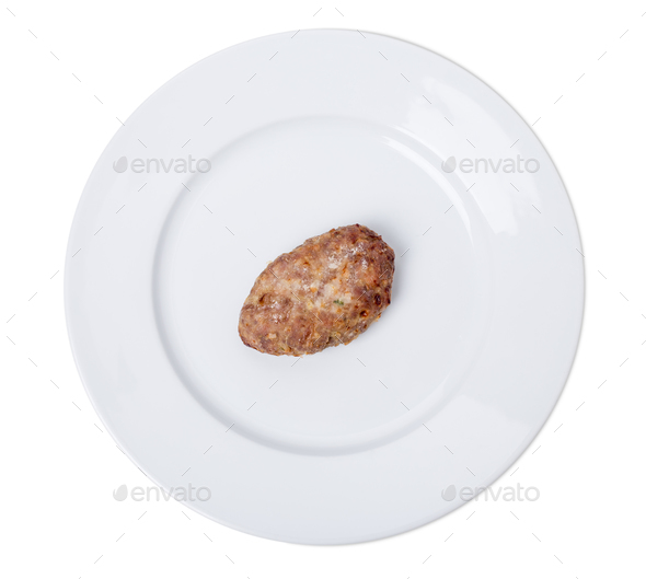 Delicious pork cutlet. - Stock Photo - Images