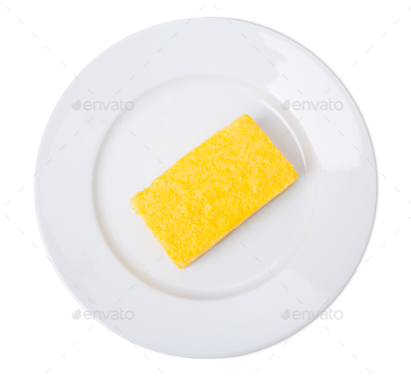 Traditional maize polenta. - Stock Photo - Images