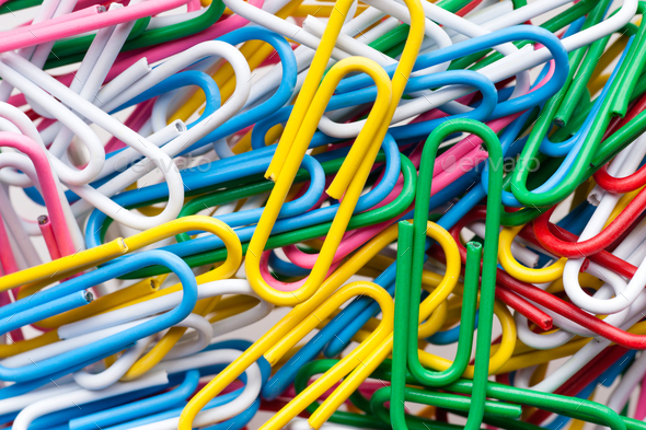Paper clips - Stock Photo - Images