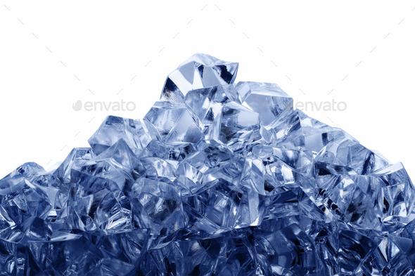 Ice mountain - Stock Photo - Images