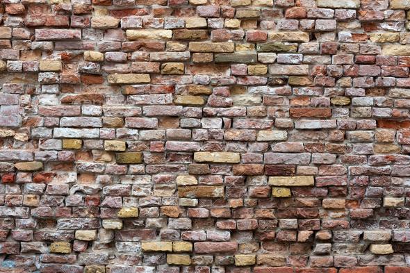 Brick wall - Stock Photo - Images