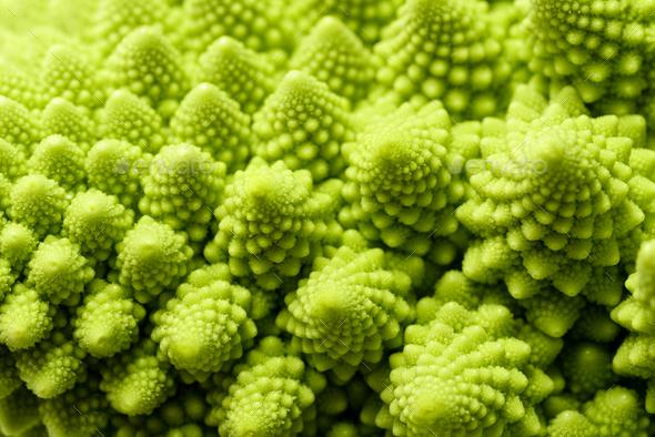 Romanesco broccoli - Stock Photo - Images