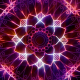 Hypnotic Neon Mandala - VideoHive Item for Sale