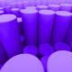 Purple Cylinders Loop - VideoHive Item for Sale