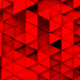 Red Triangles Background Random Loop - VideoHive Item for Sale