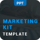 Marketing Kit Clean Powerpoint - GraphicRiver Item for Sale
